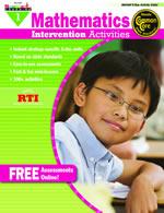 Mathematics Intervention Activities Grade 1