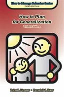 How to Plan for Generalization