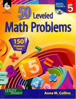 50 Leveled Math Problems Series
