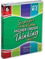 Higher Order Thinking Gr K-2