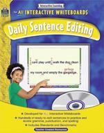Sentence Editing Grade 1