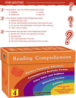 Fiction Reading Comprehension Cards