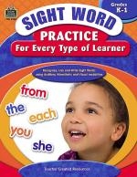 Sight Word Practice for Every Type of Learner