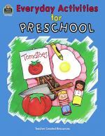 Everyday Activities for Preschool