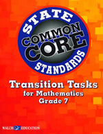 Common Core Transition Tasks for Mathematics