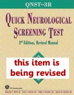 QNST-3R Quick Neurological Screening Test-3R