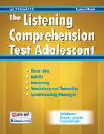 LCT-A: The Listening Comprehension Test Adolescent