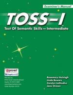 TOSS-I: Test of Semantic Skills Intermediate