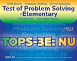 TOPS-3E: NU Test of Problem Solving-3 Elementary: Normative Update