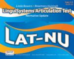 LAT-NU LinguiSystems Articulation Test-Normative Update