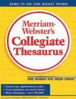 Merriam-Webster's Collegiate Thesaurus