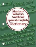 NoteBook Spanish-English Dictionary