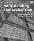 Daily Reading Comprehension Books