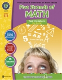 Math Task Series Combined (5 titles) Gr 6-8