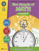 Math Drill Series Combined (5 titles) 3-5