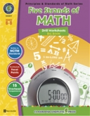 Math Drill Series Combined (5 titles) 6-8