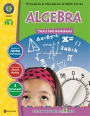Math Task and Drill Combined Algebra Grade Pk2