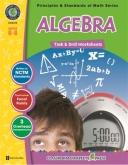 Math Task and Drill Combined Algebra Grade 6-8