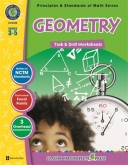 Math Task and Drill Combined Geometry Grade 3-5