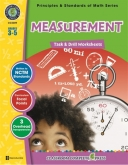 Math Task and Drill Combined Measurement Grade 3-5