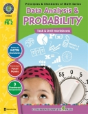 Math Task and Drill Combined Data Analysis & Probability Pk-2