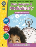 Math Task and Drill Combined Data Analysis & Probability 3-5
