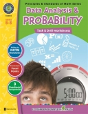 Math Task and Drill Combined Data Analysis & Probability 6-8
