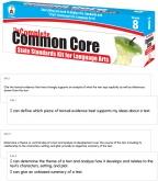 Common Core Standards Kit Grade  8 Language Arts