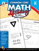 Common Core Math 4 Today Grade K