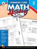 Common Core Math 4 Today Grade 3