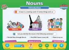 Nouns, Pronouns, Prepositions IWB Software