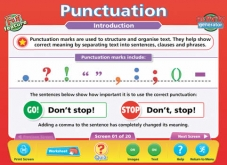 Punctuation IWB Software