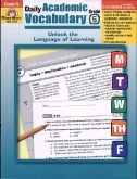 Daily Academic Vocabulary Grade 5