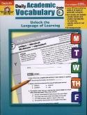 Daily Academic Vocabulary Grade 6+