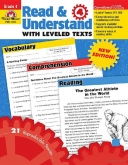 Read and Understand with Leveled Texts Grade 4