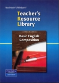 Basic English Composition Teacher's Resource Library CD-ROM