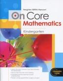 On-Core Mathematics Grade K Student WorkBook