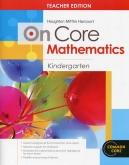 On-Core Mathematics Grade K Teacher Edition