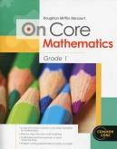 On-Core Mathematics Grade 1 Student WorkBook