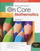 On-Core Mathematics Grade 1 Teacher Edition