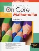 On-Core Mathematics Grade 1 Assessments
