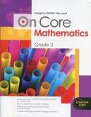 On-Core Mathematics Grade 3 Student Edition