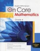 On-Core Mathematics Grade 4 Student Edition