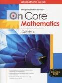On-Core Mathematics Grade 4 Assessments