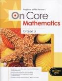 On-Core Mathematics Grade 5 Student Edition