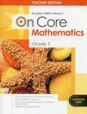 On-Core Mathematics Grade 5 Teacher Edition