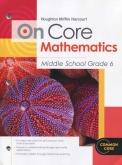 On-Core Mathematics Grade 6 Student Edition