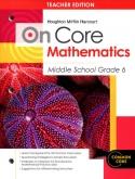 On-Core Mathematics Grade 6 Teacher Edition