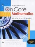 On-Core Mathematics Grade 7 Student Edition