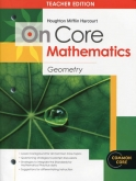 On-Core Mathematics Geometry Teacher Edition